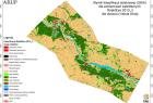 Mapa klas pokrycia terenu obszaru badań (kwiecień 2010 r.)