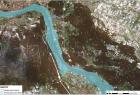 Zasięg fali powodziowej w dniu 23.05.2010r.