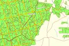 Mapa w oprogramowaniu MapSource