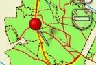 Mapa w odbiorniku Garmin Oregon