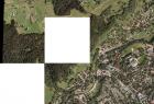 Program Geographic Imager posiada narzędzie do mozaikowania danych rastrowych