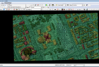 Obszar roboczy oprogramowania LP360 Viewer, widok na okno 2D.