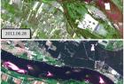 Dynamika pojawiania się i zanikania wysp na Wiśle w okolicach Nieszawy (kompozycja 321)