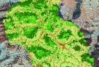Wynik klasyfikacji GEOBIA dla terenów zasilających zbiornik Dobczycki