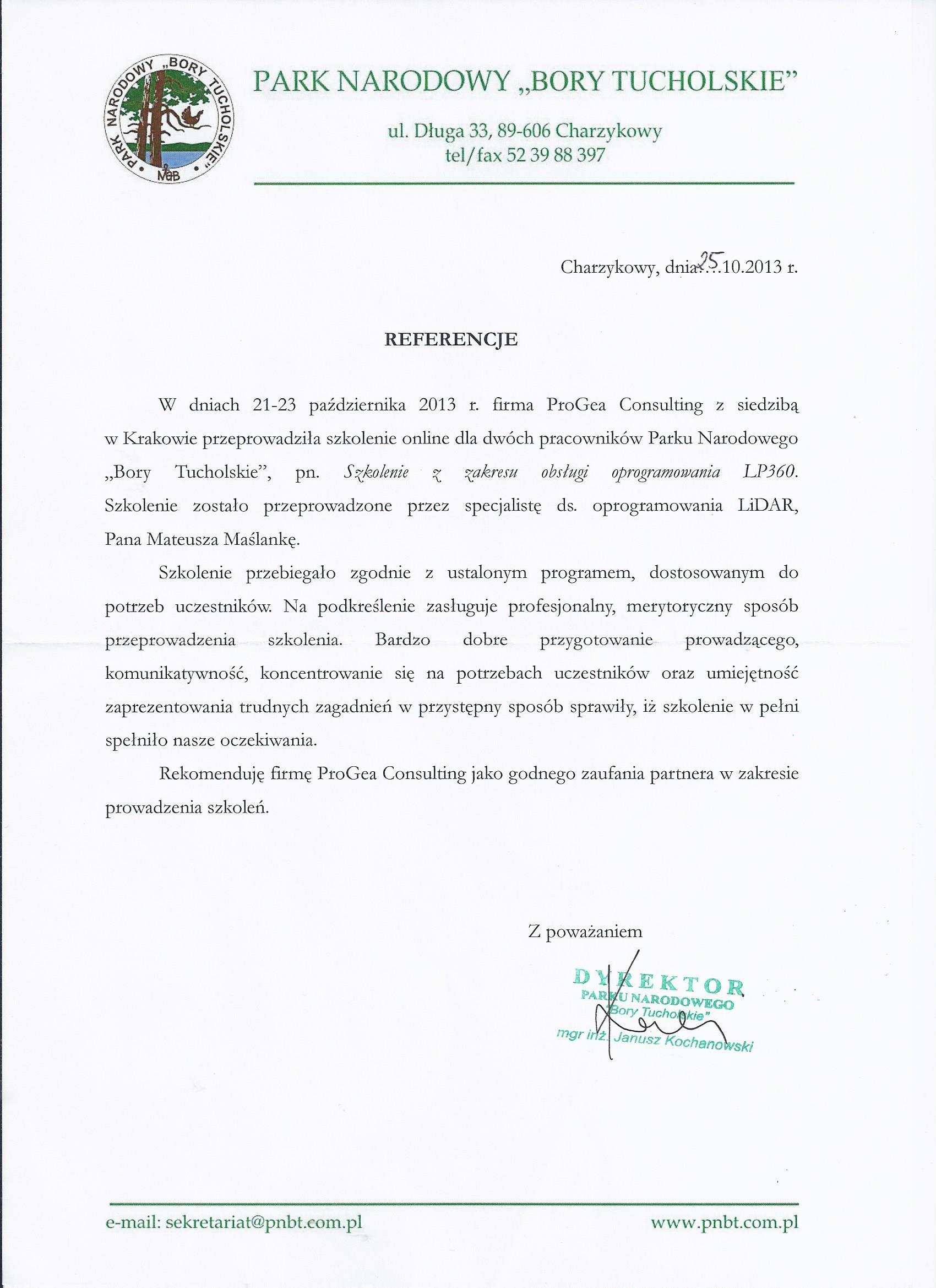 referencje_Bory Tucholskie