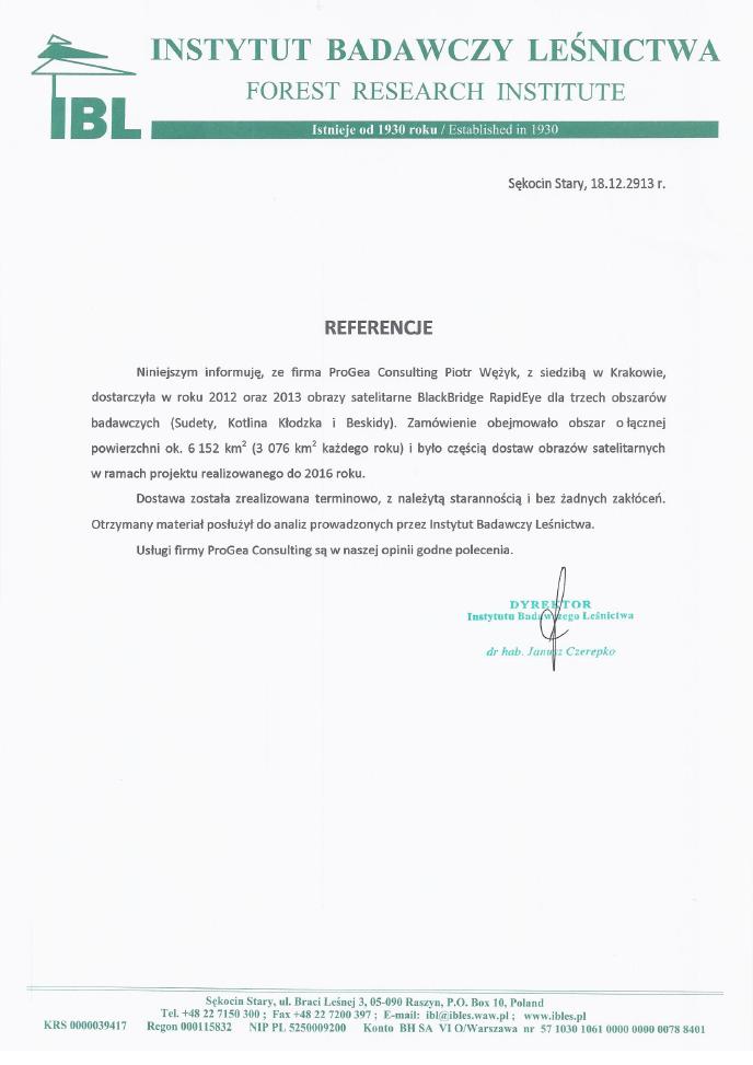 IBL referencje_Sudety_Beskidy_KotlinaKlodzka