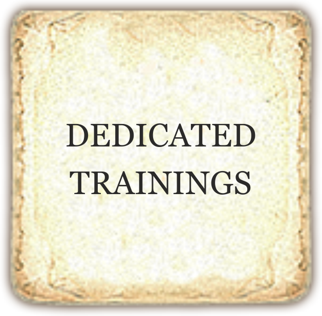 dedicated trainings